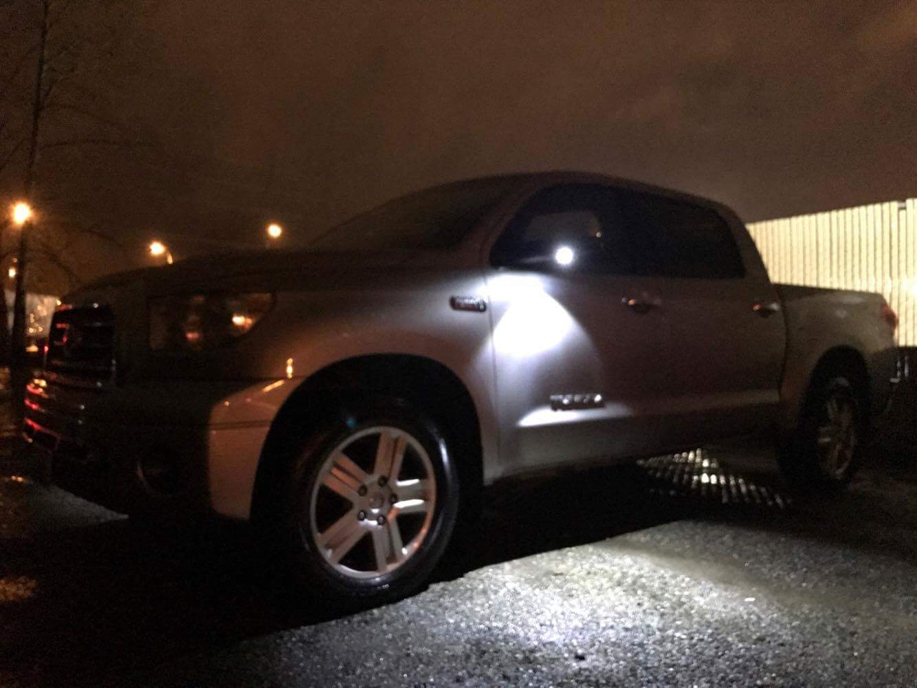 Toyota Led Mirror Puddle Light Kit Lumawerx